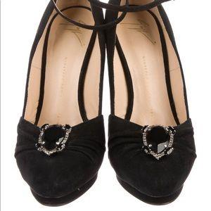 Giuseppe Zanotti Crystal Heels size 8